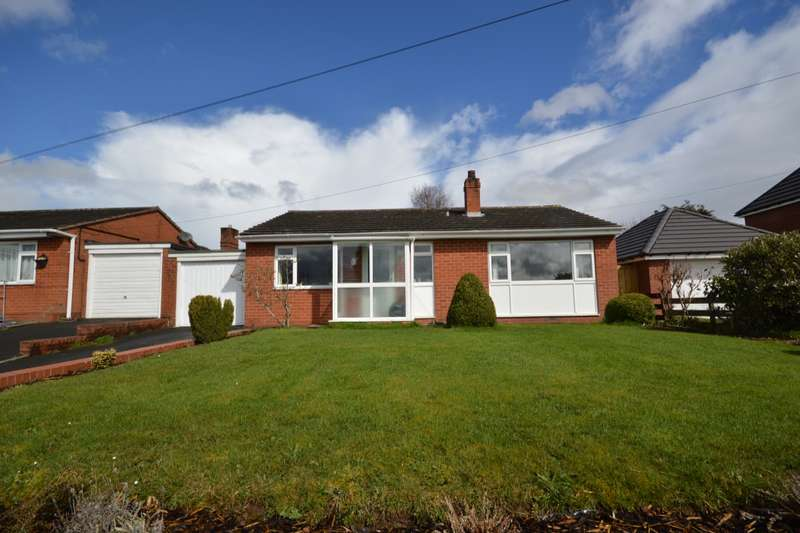 3 Bedrooms Detached Bungalow for sale in Talbot Fields, High Ercall, Telford, Shropshire, TF6