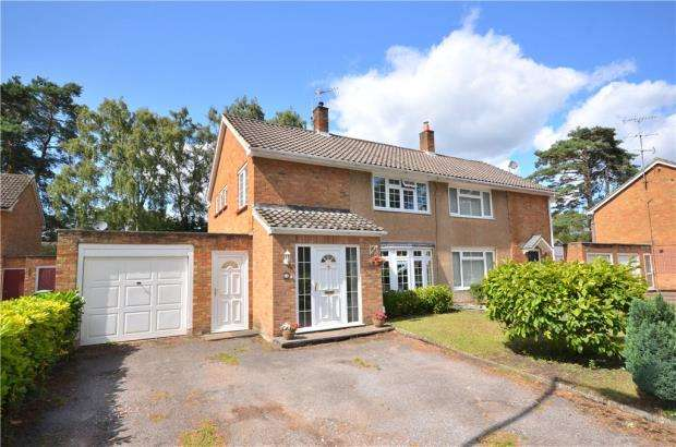 4 Bedrooms Semi Detached House for sale in Harmanswater Road, Bracknell, Berkshire