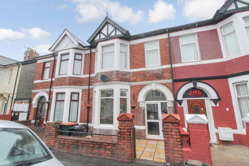 3 Bedrooms Terraced House for sale in Marlborough Road, Newport, NP19