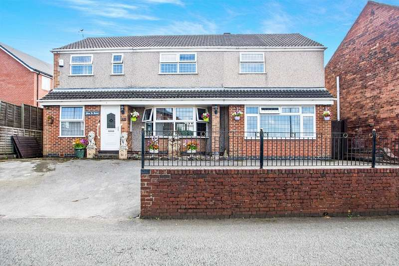 5 Bedrooms Detached House for sale in Nook End Road, Heanor, Derbyshire, DE75