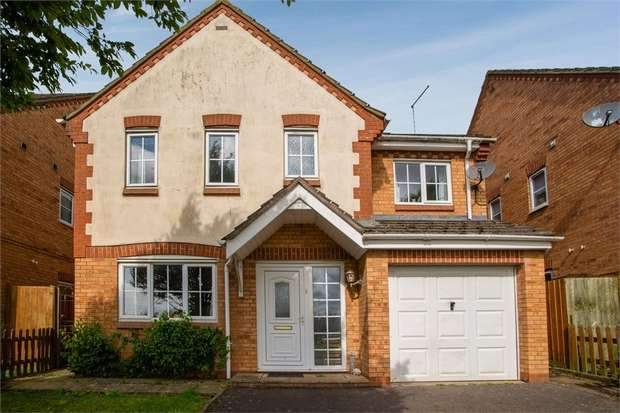 4 Bedrooms Detached House for sale in Preston Drive, Daventry, Northamptonshire
