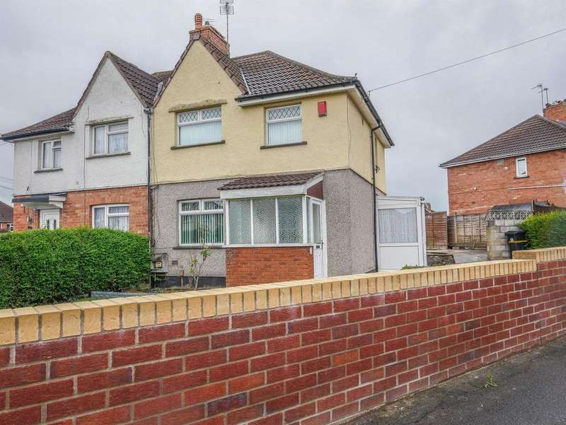 3 Bedrooms Semi Detached House for sale in Throgmorton Road, Knowle, Bristol, BS4 1HS