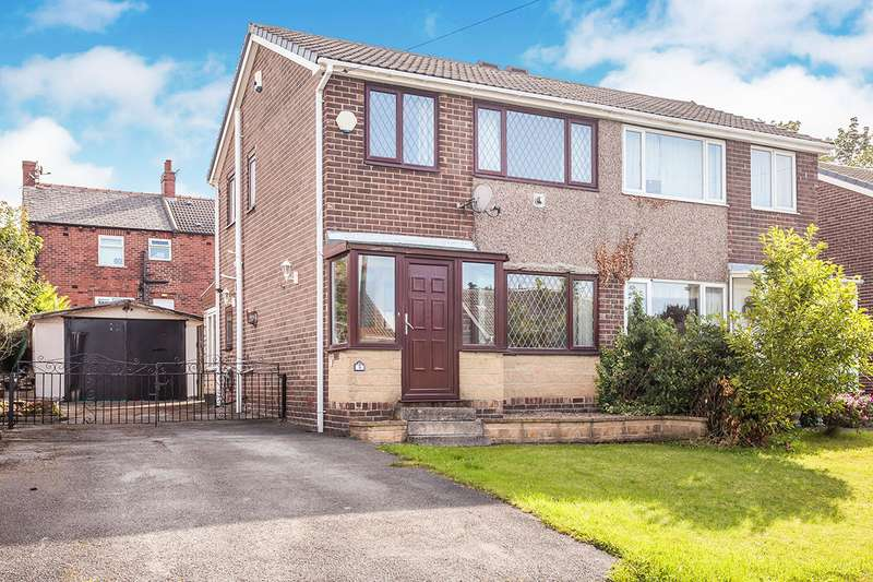 3 Bedrooms Semi Detached House for sale in Valley View Road, Ossett, West Yorkshire, WF5