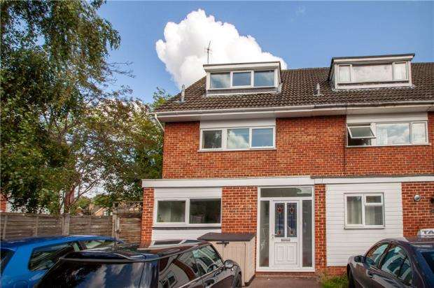 3 Bedrooms End Of Terrace House for sale in Bideford Close, Woodley, Reading