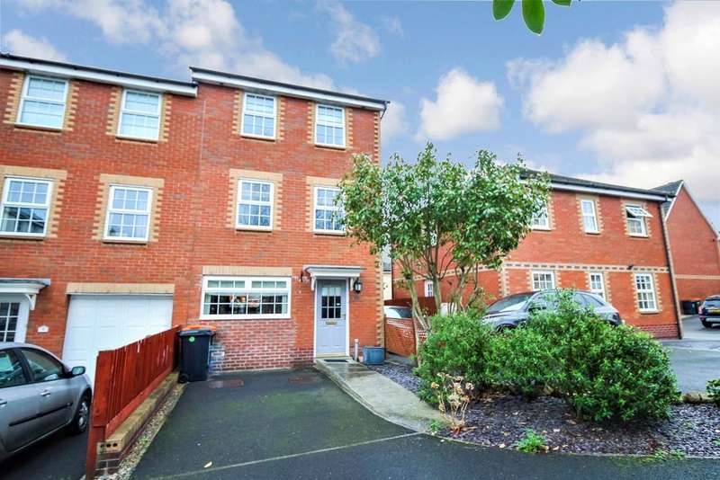 4 Bedrooms End Of Terrace House for sale in Chirk Close, Newport, NP10