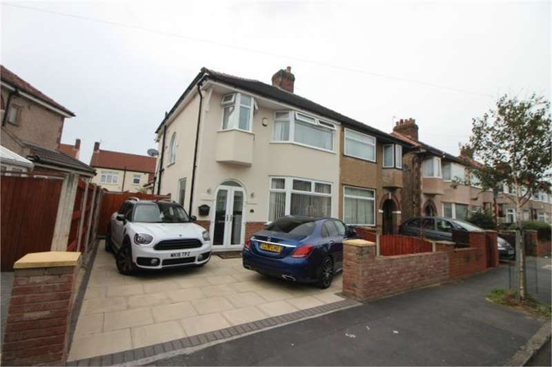 3 Bedrooms Semi Detached House for sale in Somerset Road, Brighton-le-Sands, LIVERPOOL, Merseyside