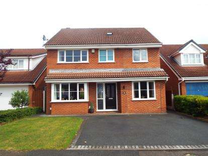 4 Bedrooms Detached House for sale in Carnoustie Close, Fulwood, Preston, Lancashire, PR2