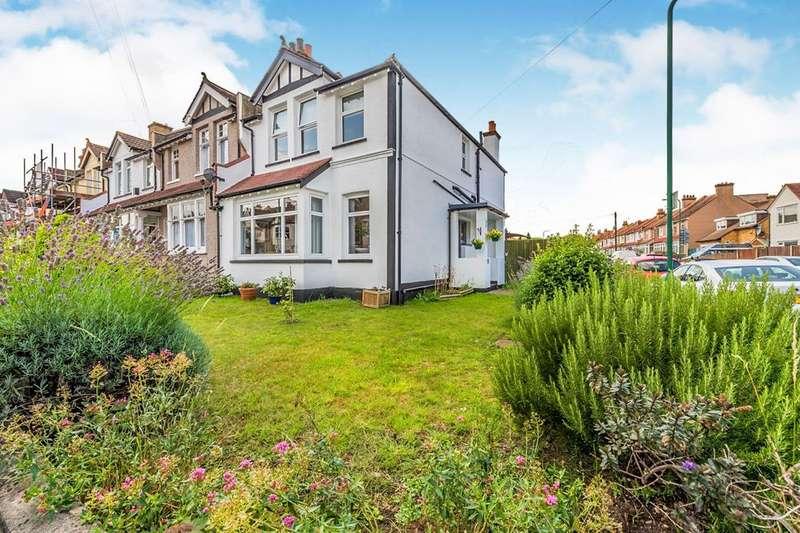 3 Bedrooms End Of Terrace House for sale in Milton Road, Wallington, Surrey, SM6