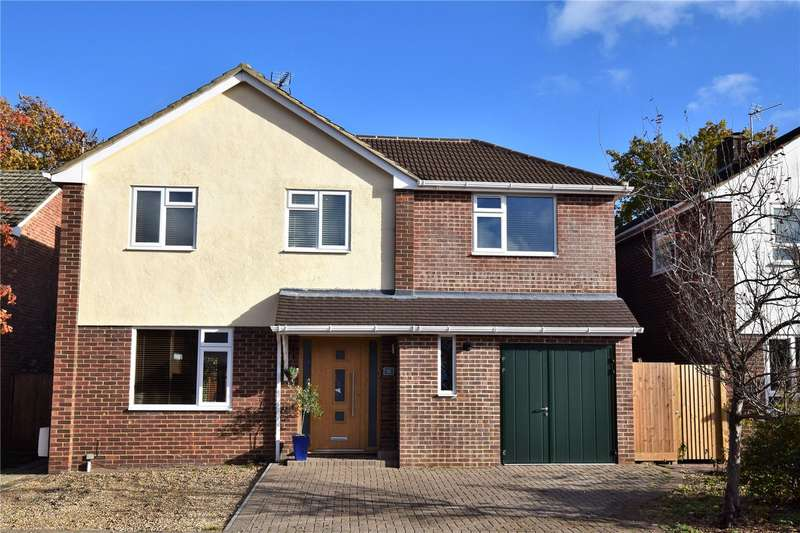 5 Bedrooms Detached House for sale in Birch Road, Burghfield Common, Reading, Berkshire, RG7