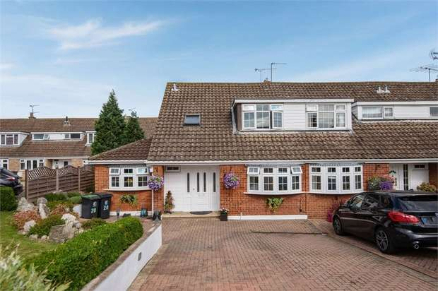 4 Bedrooms Semi Detached House for sale in Elm Close, Waltham Abbey, Essex