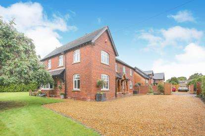 5 Bedrooms Detached House for sale in Congleton Road, Marton, Macclesfield, Cheshire
