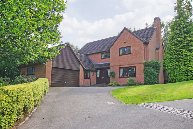4 Bedrooms Detached House for sale in Cherry Hill Road, Barnt Green, B45 8LJ