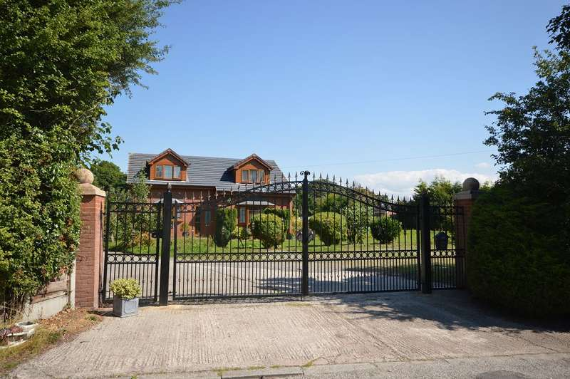 4 Bedrooms Detached House for sale in Newcastle Road, Sandbach, CW11 2WE