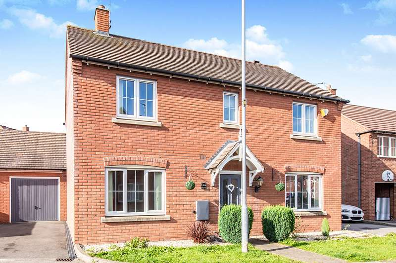 4 Bedrooms Detached House for sale in Beams Meadow, Hinckley, Leicestershire, LE10