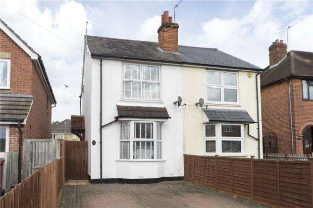 3 Bedrooms Semi Detached House for sale in Whitley Wood Lane, Reading, Berkshire