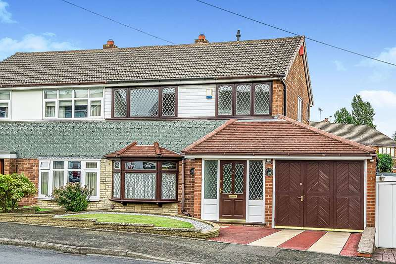 3 Bedrooms Semi Detached House for sale in Silverthorne Avenue, Tipton, West Midlands, DY4