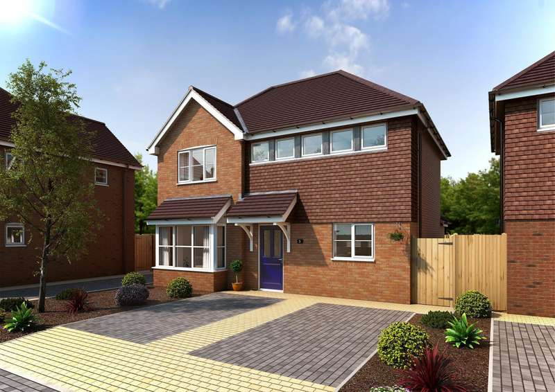 3 Bedrooms Detached House for sale in Southgate Close, Kempshott