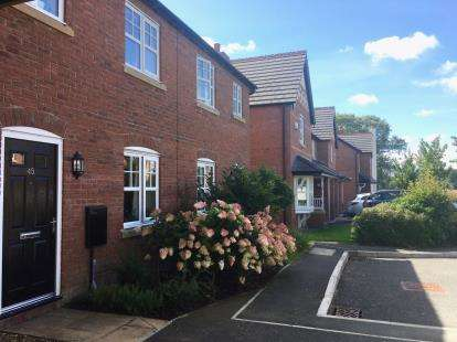 3 Bedrooms Terraced House for sale in Granary Close, Milton Green, Chester, Cheshire, CH3