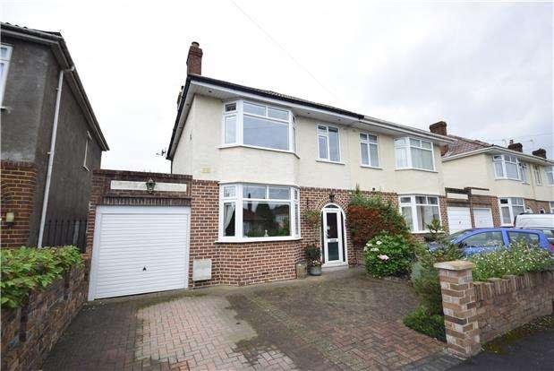 3 Bedrooms Semi Detached House for sale in Oakdale Road, Downend, BRISTOL, BS16 6DP