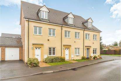 4 Bedrooms End Of Terrace House for sale in Harewelle Way, Harrold, Bedford, Bedfordshire