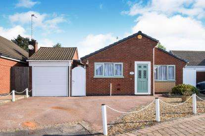 2 Bedrooms Bungalow for sale in Rosedale Road, Wigston, Leicester, Leicestershire