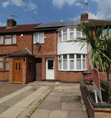 3 Bedrooms Terraced House for sale in The Brianway, Leicester, Leicestershire, LE5 4BH