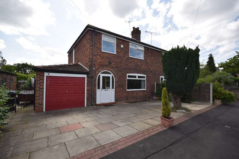 3 Bedrooms Semi Detached House for sale in Aldwyn Crescent, Stockport, Greater Manchester, SK7