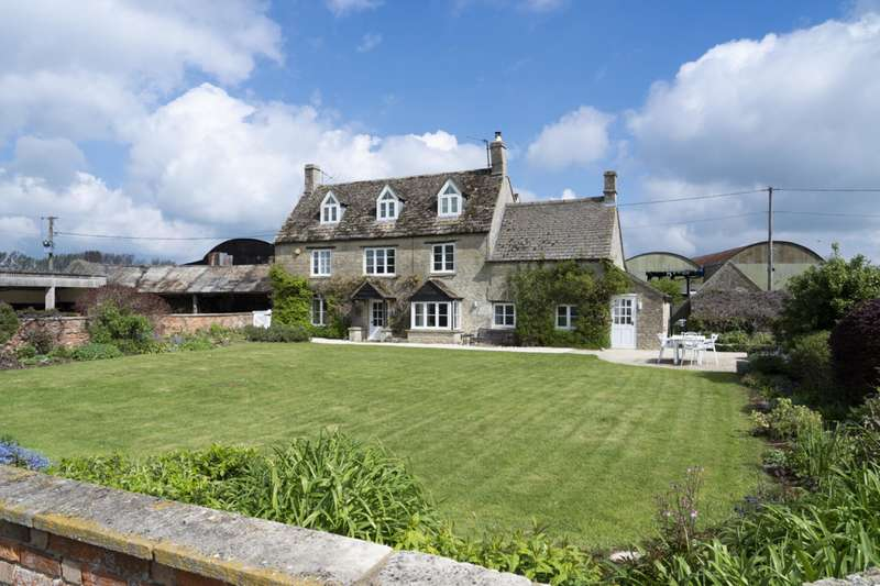 4 Bedrooms Detached House for sale in Swillbrook, Minety, Malmesbury, Wiltshire
