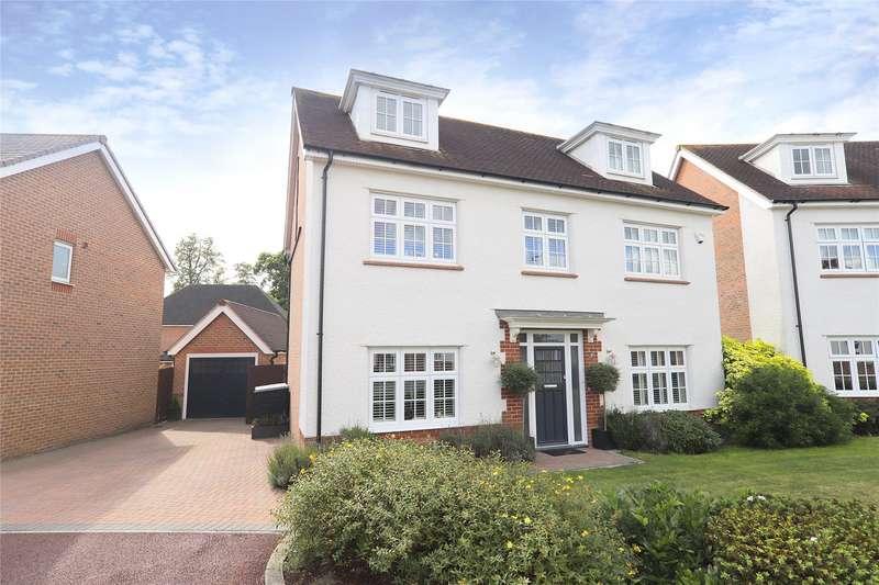 5 Bedrooms Detached House for sale in Bunting Lane, Jennetts Park, Bracknell, Berkshire, RG12