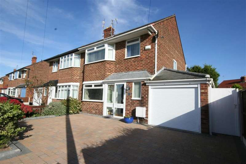 3 Bedrooms Semi Detached House for sale in Bayswater Road, Wallasey, CH45 8NF