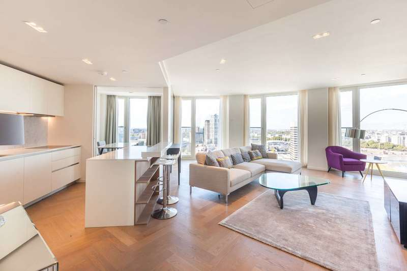 2 Bedrooms Flat for sale in Upper Ground, South Bank, SE1