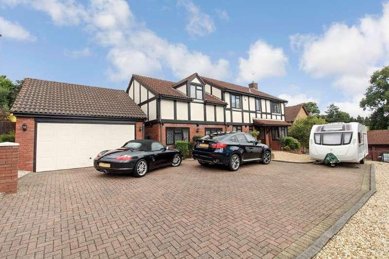5 Bedrooms Detached House for sale in Shepherd Drive, Langstone, Newport, NP18