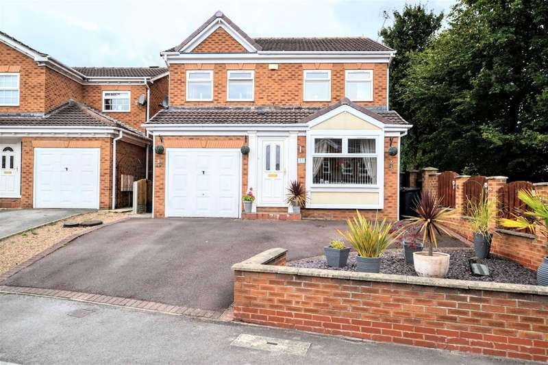 4 Bedrooms Detached House for sale in Low Pasture Close, Dodworth, Barnsley, S75 3TG