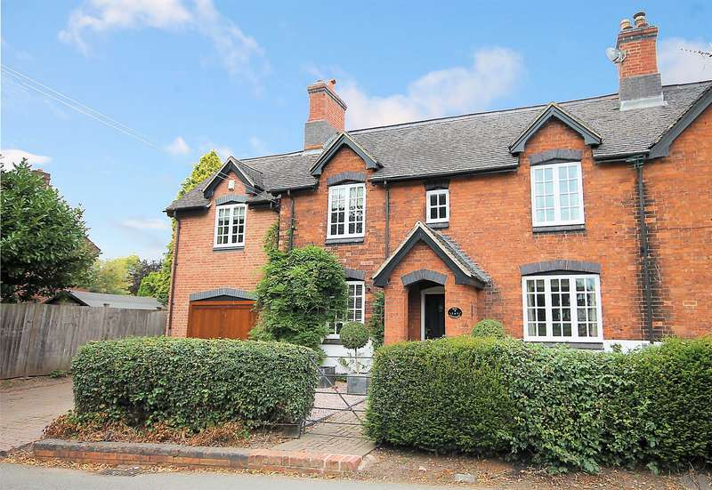 3 Bedrooms Semi Detached House for sale in Box Cottage, Church Road, Elford, B79 9DA