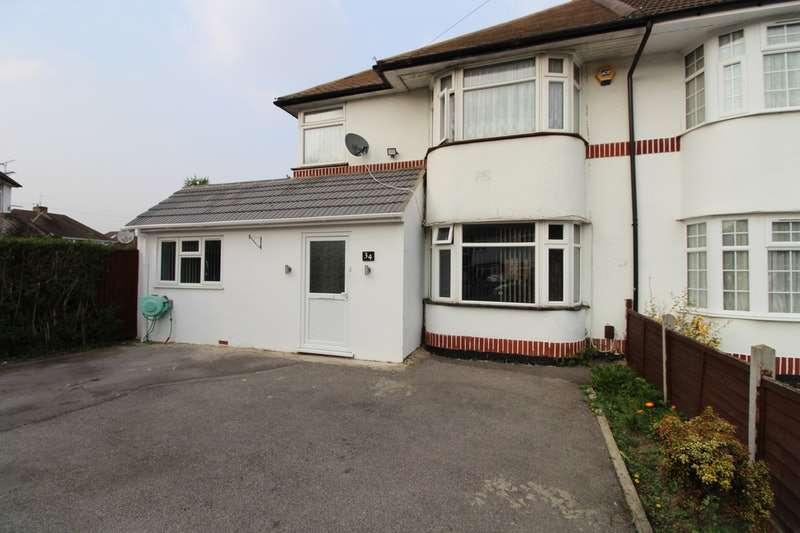 4 Bedrooms Semi Detached House for sale in Courtlands Avenue, Slough, Berkshire, SL3