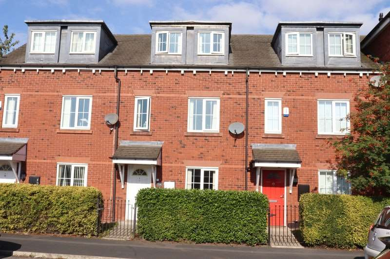 3 Bedrooms Town House for sale in Harrison Close, Warrington, Cheshire, WA1