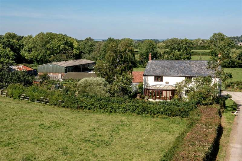 4 Bedrooms Detached House for sale in Stewley, Ashill, Ilminster, Somerset, TA19