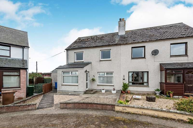 4 Bedrooms Semi Detached House for sale in Rovers Crescent, Balintore, Tain, Ross-Shire, IV20