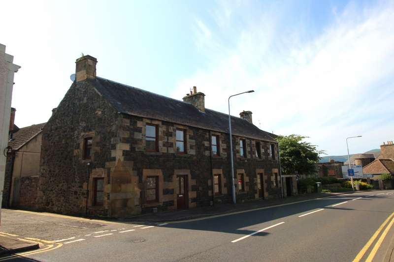 3 Bedrooms End Of Terrace House for sale in Cupar Road, Auchtermuchty, Cupar, Fife, KY14