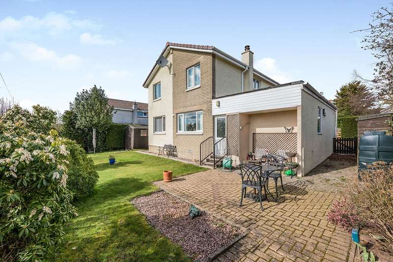4 Bedrooms Detached House for sale in Napier Place, Marykirk, Laurencekirk, Kincardineshire, AB30