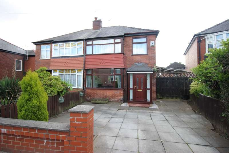 3 Bedrooms Semi Detached House for sale in Agecroft Road West, Prestwich, Manchester, M25