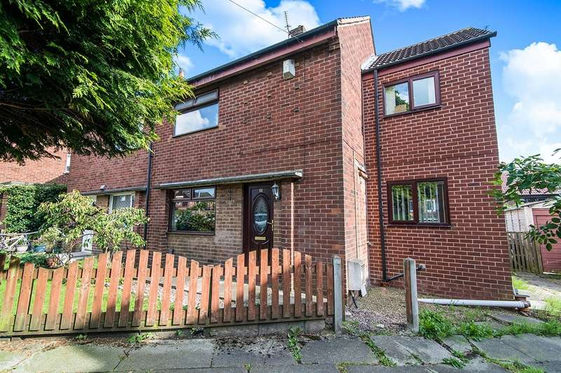 3 Bedrooms Semi Detached House for sale in Tulip Avenue, Kearsley, Bolton, Greater Manchester, BL4