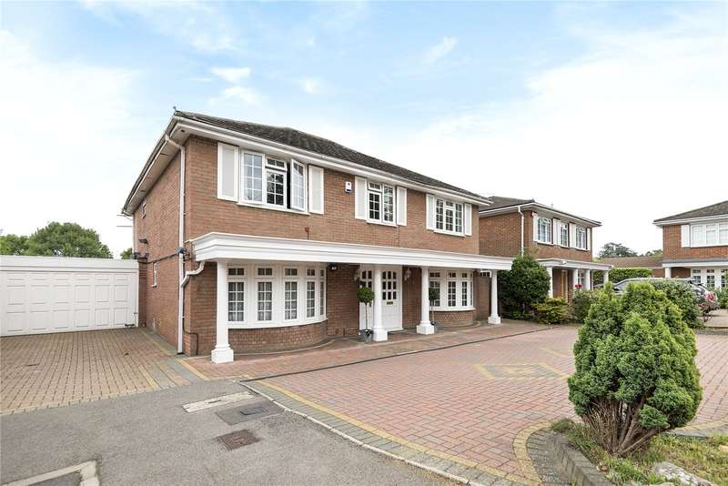 5 Bedrooms Detached House for sale in Leavesden Road, Stanmore, Middlesex, HA7