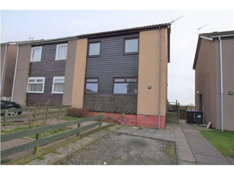 2 Bedrooms Semi Detached House for sale in 95, Hatton Farm Gardens, Hatton, Peterhead, Aberdeenshire