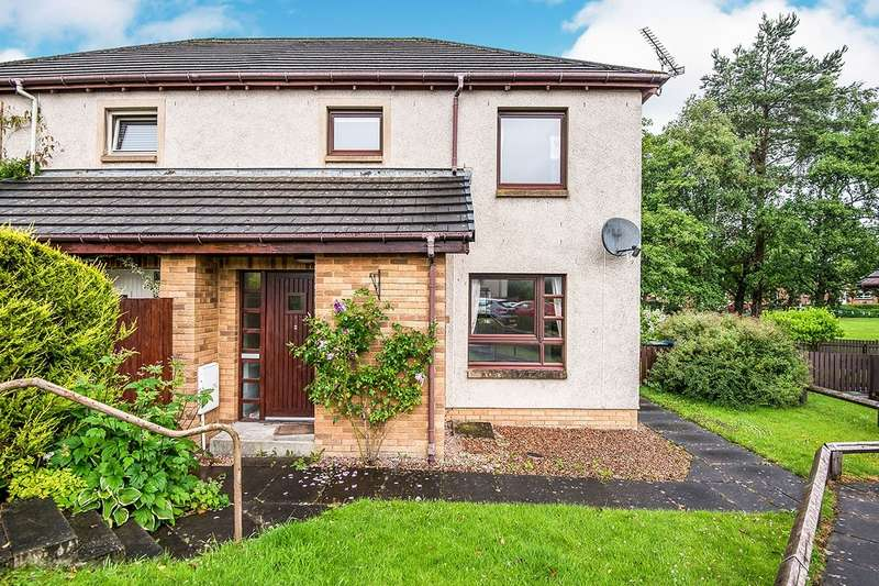 2 Bedrooms Semi Detached House for sale in St. Serf's Place, Crook Of Devon, Kinross, KY13