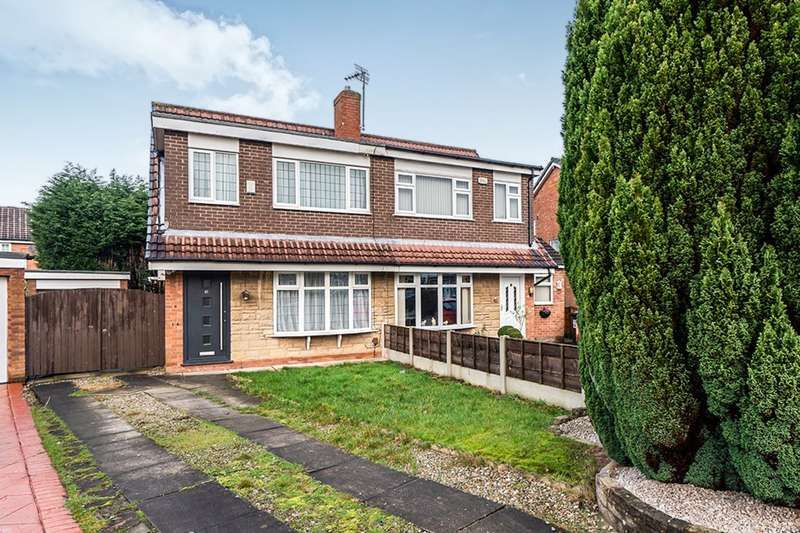 3 Bedrooms Semi Detached House for sale in Ullswater Road, Astley,Tyldesley, Manchester, M29