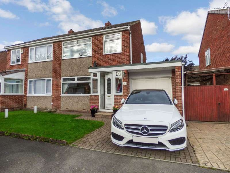 3 Bedrooms Property for sale in Amesbury Crescent, Hemlington, Middlesbrough, North Yorkshire, TS8 9HR