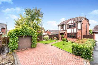 3 Bedrooms Detached House for sale in Lea Cross Grove, Parklands, Widnes, Cheshire, WA8