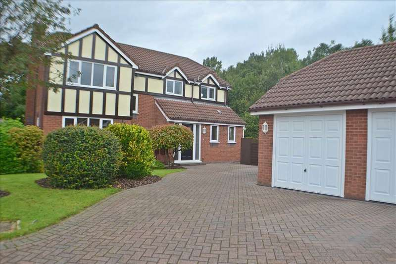 4 Bedrooms Detached House for sale in Falconers Green, Kingswood, Warrington