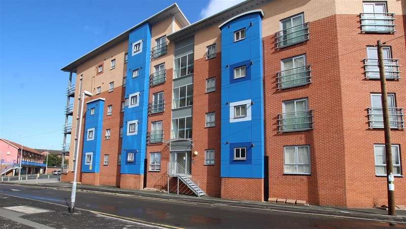 2 Bedrooms Apartment Flat for sale in Leicester Court, Craggs Row, Preston